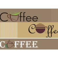 Fototapete Schriftkunst Tapete Schriftzug Kaffee Coffee Tasse braun | no. 2063