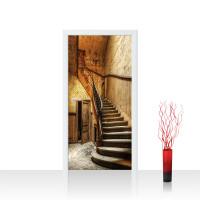 Türtapete - Sonstiges Treppen Treppenhaus Stufen Haus Antik | no. 4253